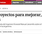 Diario Clarin, 29 de mayo de 2016