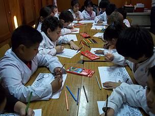 © Por más concientización y educación ambiental: con los más chicos