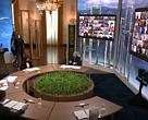 El presidente de los EE. UU., Joe Biden, recibe a los líderes mundiales virtualmente en su Cumbre del Clima de Líderes, celebrada del 22 al 23 de abril de 2021.